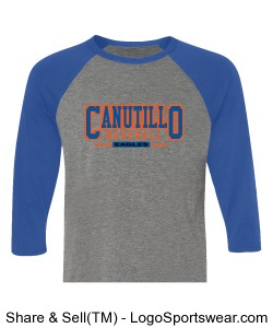 CANUTILLO 3/4 SLEEVE TEE Design Zoom